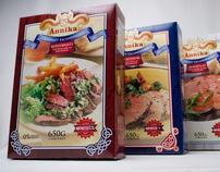 Annika - comida congelada - packaging