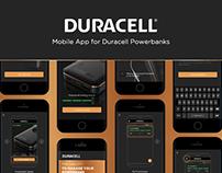 Duracell: Mobile IoT App