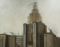 Construction of the Moscow University