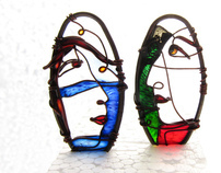 Faces Earrings