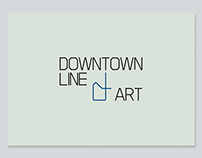 Downtown Line Art