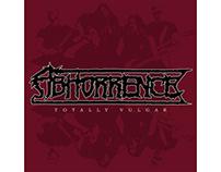 Abhorrence - Totally Vulgar | Album layout