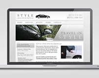 Style Chauffeur Services Logo & Webdesign