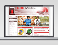 Head Rebel Ecommerce Website Design