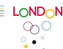 Poster for London 2012 J.O.