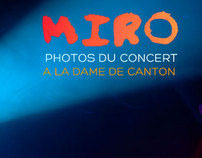 Photography for a concert - Paris // La Dame de Canton
