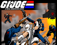 G.I. Joe Action Scene