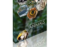 Ad Campaign: Art Inspiration through Animals