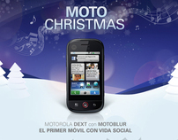 Moto Blur Christmas - Facebook app