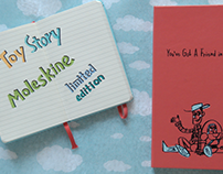 Commercial: Moleskine Toy Story Collection