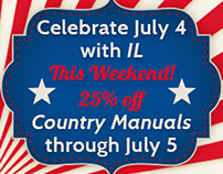 International Living 4th of July Web Banners 2015
