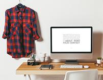 Personal Portfolio & Visual Identity