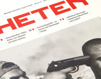 Newspaper design | Friheten