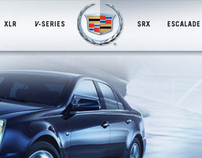 Cadillac Site Redesign