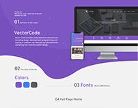 Vectorcode Website