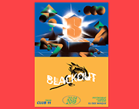 BLACKOUT 2 - Poster Design