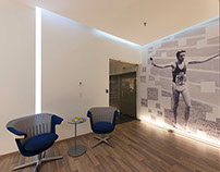 Asics Latinamerica Headquarters, Office graphics