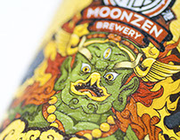 Moonzen Brewery Beer Labels