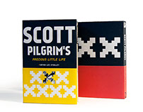 Scott Pilgrim Book Jackets