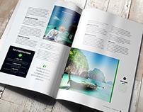 A4 Brochure Magazine Mockup 3