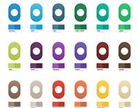 Colour Palette with Gradients