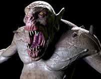 Trunull Game 3d creature