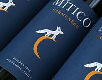 Mítico Wine Label