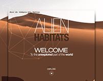 Alien habitats 2 Concept.