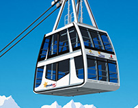 Paradiski Vanoise Express Cable Car