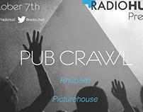 Radio Hud Social Event - Poster Design