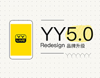 YY LIVE APP Redesign