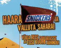 posters for snickers promo campagns CONQUER ...