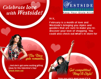 Emailer design for My Westside store, india