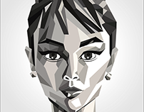 Illustration : Audrey Hepburn