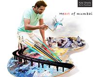 Concept Art for KALA GHODA Art Festival