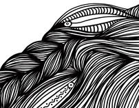 Hair lines & a tear*