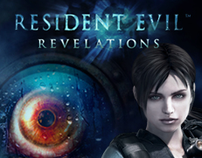 NINTENDO - Resident Evil Revelations Display Adv