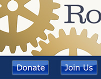 Rochester Rotary Club - Web Design
