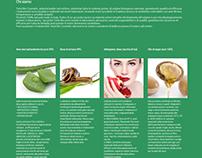 Total Bio Cosmetic website