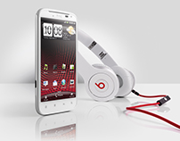 HTC – SENSATION WITH BEATS AUDIO™