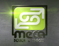 Meca Design & Spaces intro for the website