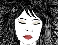 Hand Drawn Illustrations - Edited Digitally