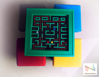 Pac-man table