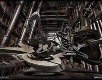 3d graffiti - Debris