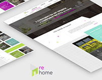 Website design - Home Design and Repair / UI/UX