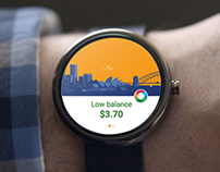 Concept - Opal app for Android smartwatches