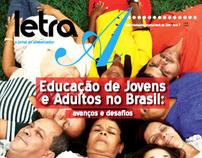 Editorial - Jornal Letra A - Ceale - UFMG