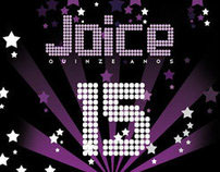 Joice's 15 party invitation