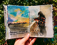 Jeju Travel Sketchbook