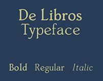 De Libros Typeface